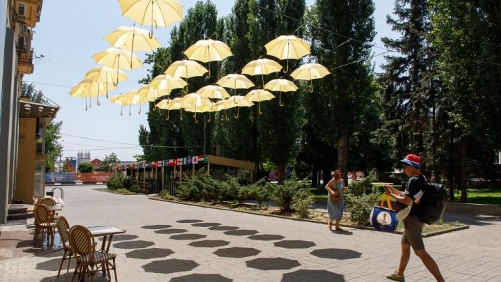 В Волгоградской области ожидается сильный ветер и жара +31 ºС