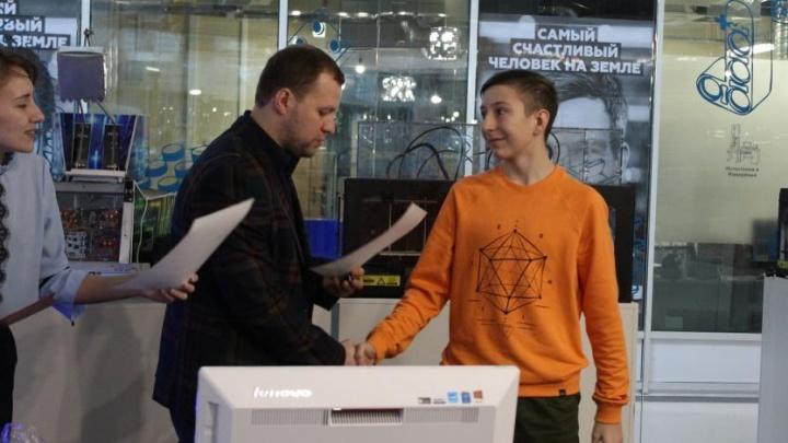 Восьмиклассник и студент из Уфы выиграли всероссийский конкурс технологий