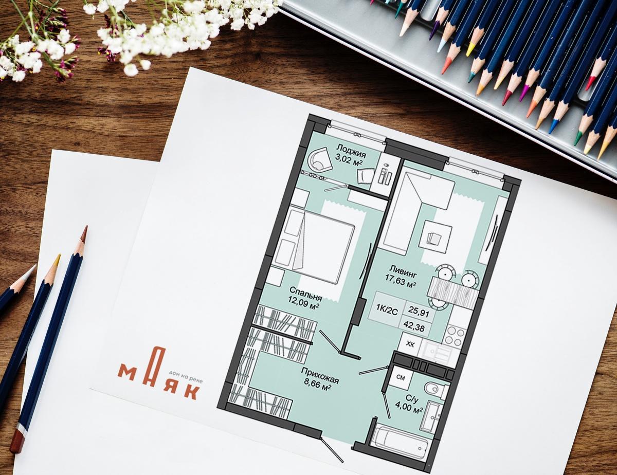 Стартовали продажи в жилом комплексе «Маяк» на Михайловской набережной