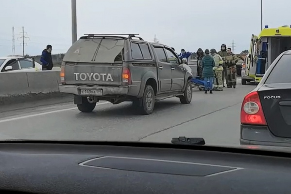 Авария на дороге с интенсивным движением произошла сегодня после полудня