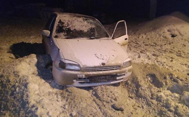 Пьяный водитель Toyota выехал на обочину, где шла женщина