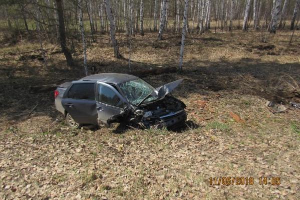 Обстоятельства аварии выяснят сотрудники ГИБДД