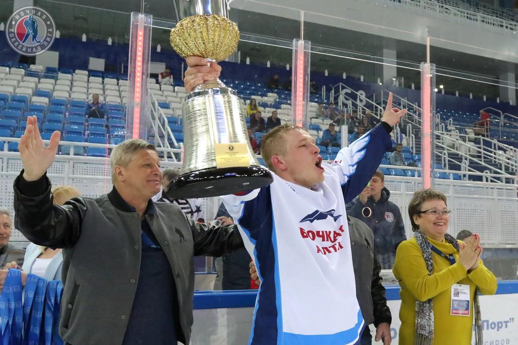«Бочкари 18+» и кубок победы в Лиге надежды