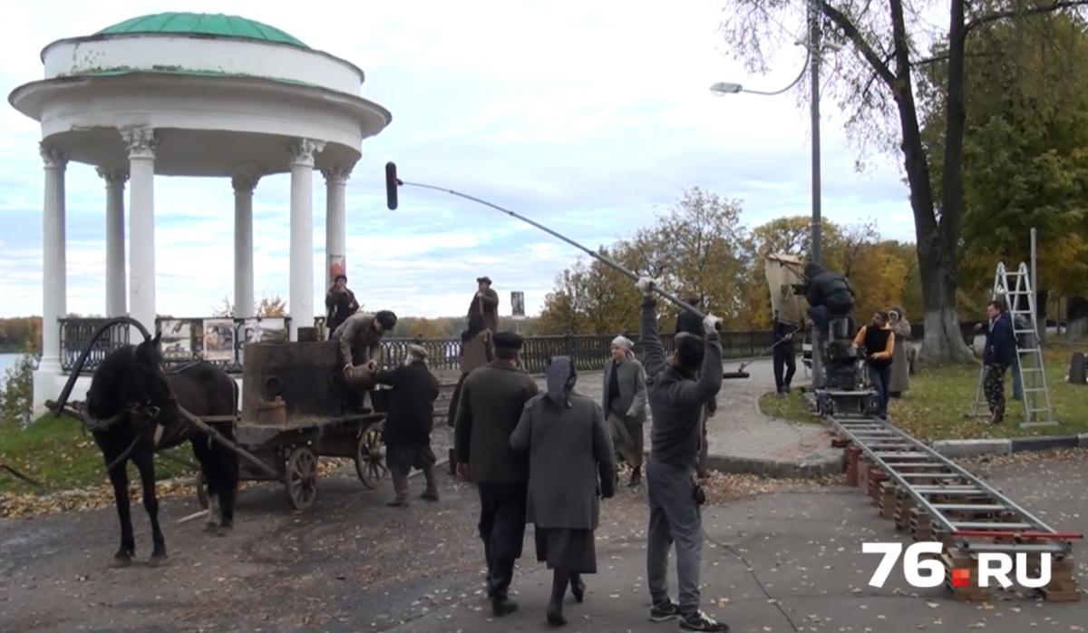 В Ярославле сняли фильм, посвященный белогвардейскому мятежу