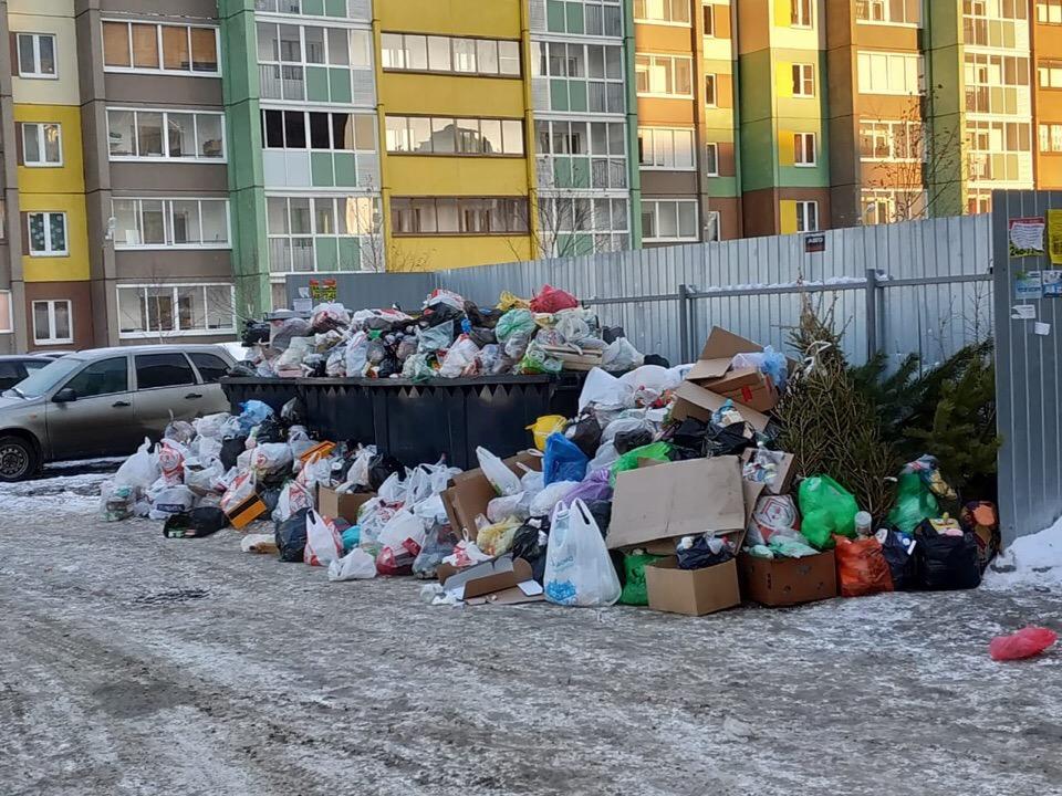 По словам жителей, мусоровозы в их дворах стали появляться реже, чем раньше