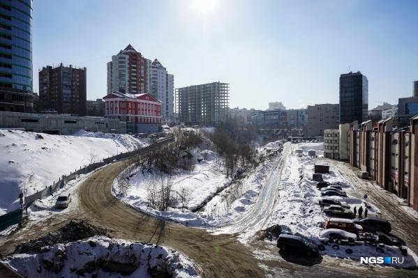 Жители улиц Овражная и Кавалерийская хотят видеть в пойме реки парк, а не дорогу