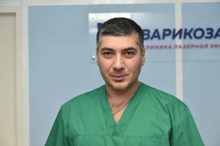 Хачатур Михайлович Кургинян, один из самых сильных сосудистых хирургов в России