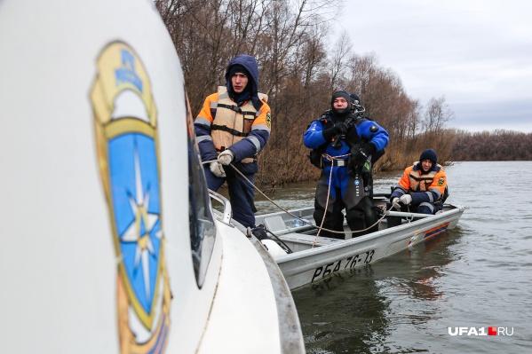 Спасатели просканировали 28 километров Уфимки
