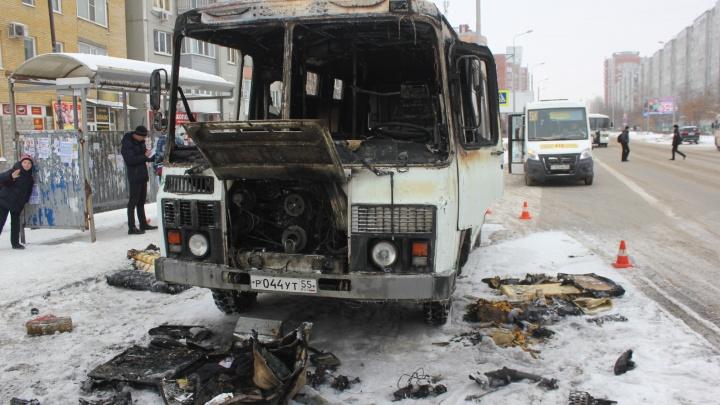 Производитель рассказал, из-за чего загорелся пассажирский ПАЗ на Омской