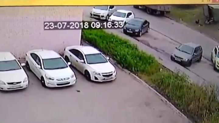 Видео: в Самаре грузовая «Газель» переехала человека