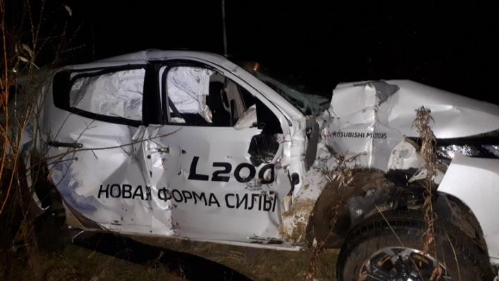В Богучанах локомотив протаранил легковушку. Водитель погиб