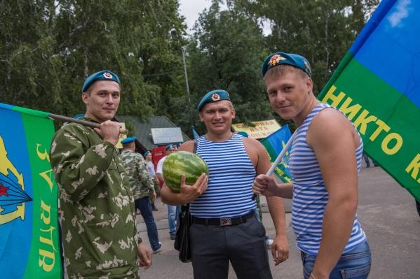 День Воздушно-десантных войск пройдёт 2 августа в Центральном парке