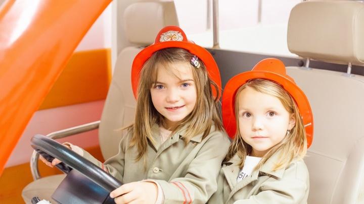 Детский город профессий «КидБург» дарит подарки всем первоклассникам Новосибирска