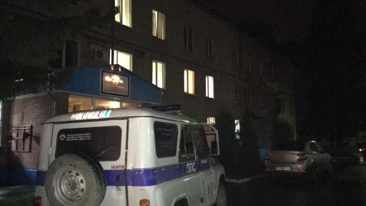 В здании полиции Советского района нашли труп полицейского