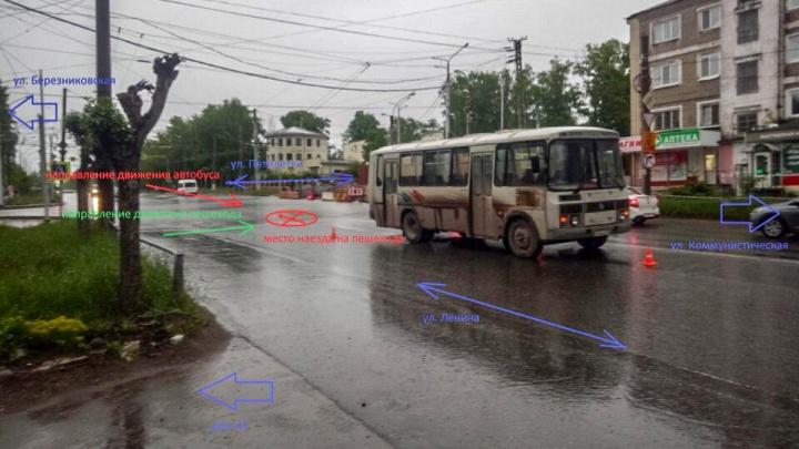 В Березниках автобус сбил восьмилетнюю девочку: водитель ездил без прав