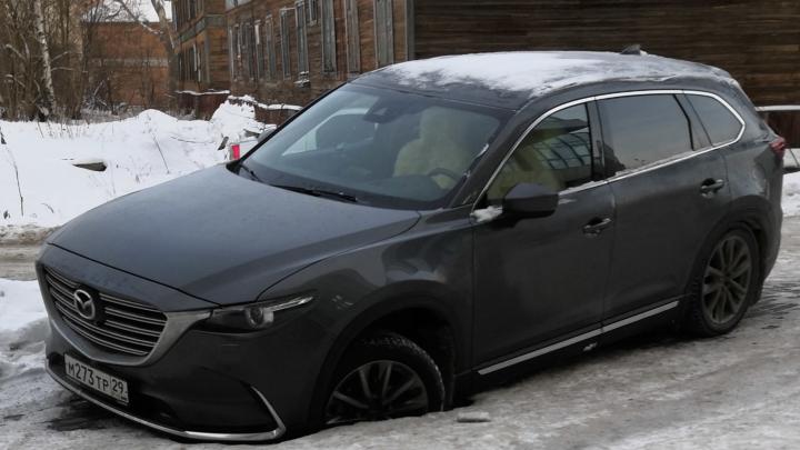 Дыра размером с автомобиль: как авария повлияла на быт обитателей жилой высотки в Архангельске