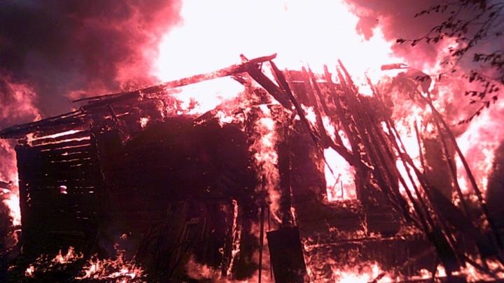 Ярославец сгорел в собственном коттедже