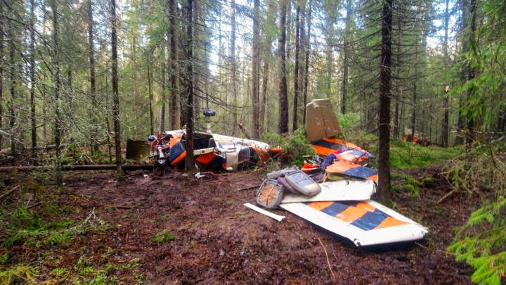 По факту крушения самолета в Прикамье Следственный комитет возбудит уголовное дело