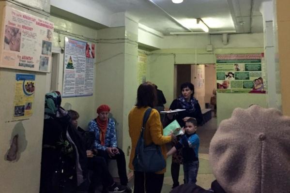 Для больных и здоровых детей в новой детской поликлинике сделают отдельные входы