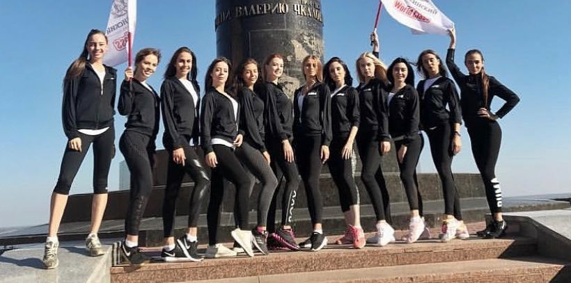 Финальный состав участниц — 12 девушек