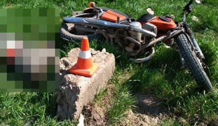 Авария в Башкирии: мотоциклист разбился насмерть