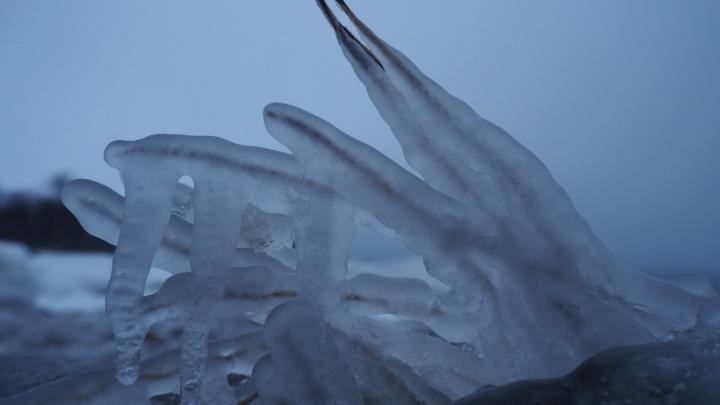 Твёрдое Белое море: 10 ледяных фотографий с берега Соловецких островов от читателя 29.RU