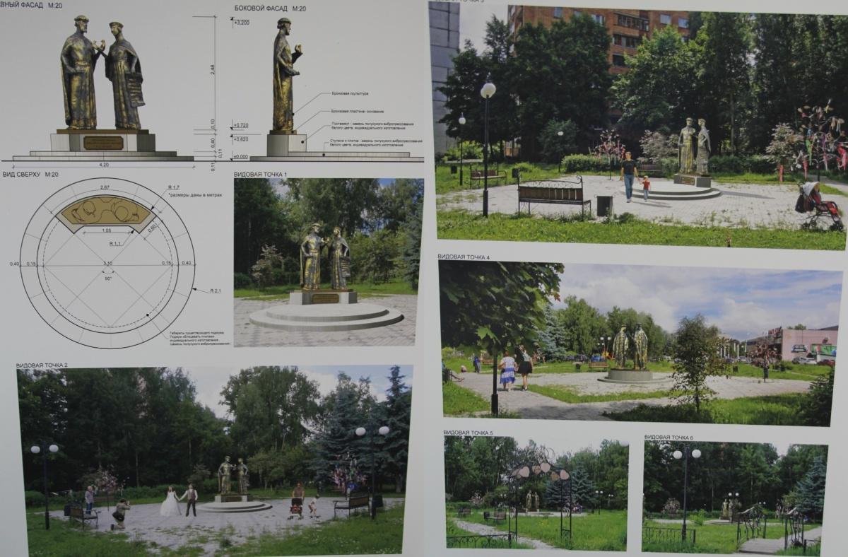 Стало известно, кто будет создателем монумента «Петр иФеврония» вНижнем Новгороде
