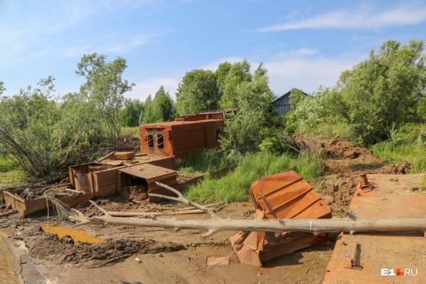На Урале встречаются пейзажи, напоминающие Припять