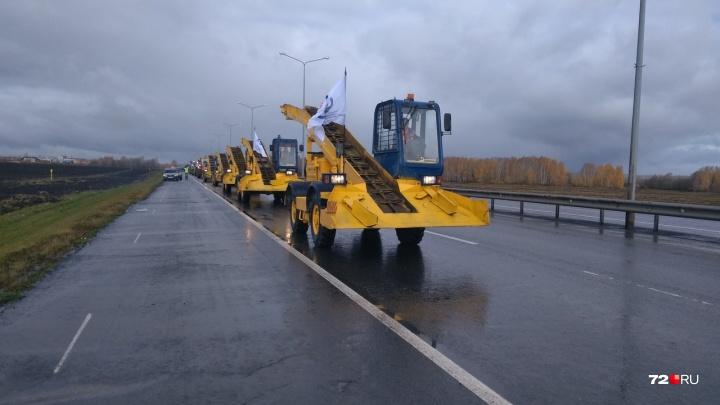 Тюменские чиновники устроили ревизию дорожной техники. Смотрим, как и чем будут чистить наши дороги