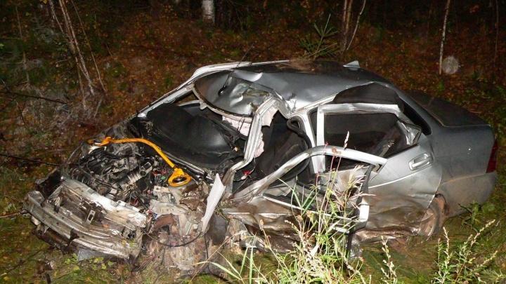 В Прикамье два водителя погибли в ДТП на трассе
