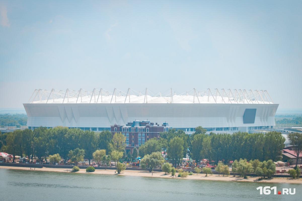 Началась продажа билетов наматч сборной РФ на«Ростов-Арене»