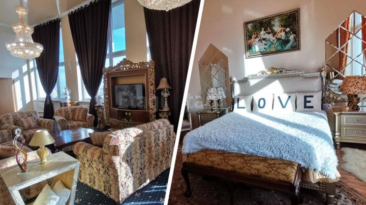 В Екатеринбурге за 45 миллионов продают пентхаус, стилизованный под дворец: рассматриваем фото