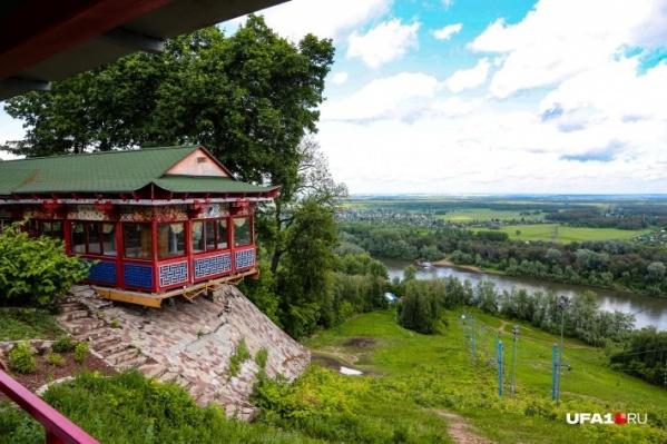 Парк над Уфимкой — одно из красивейших мест в городе