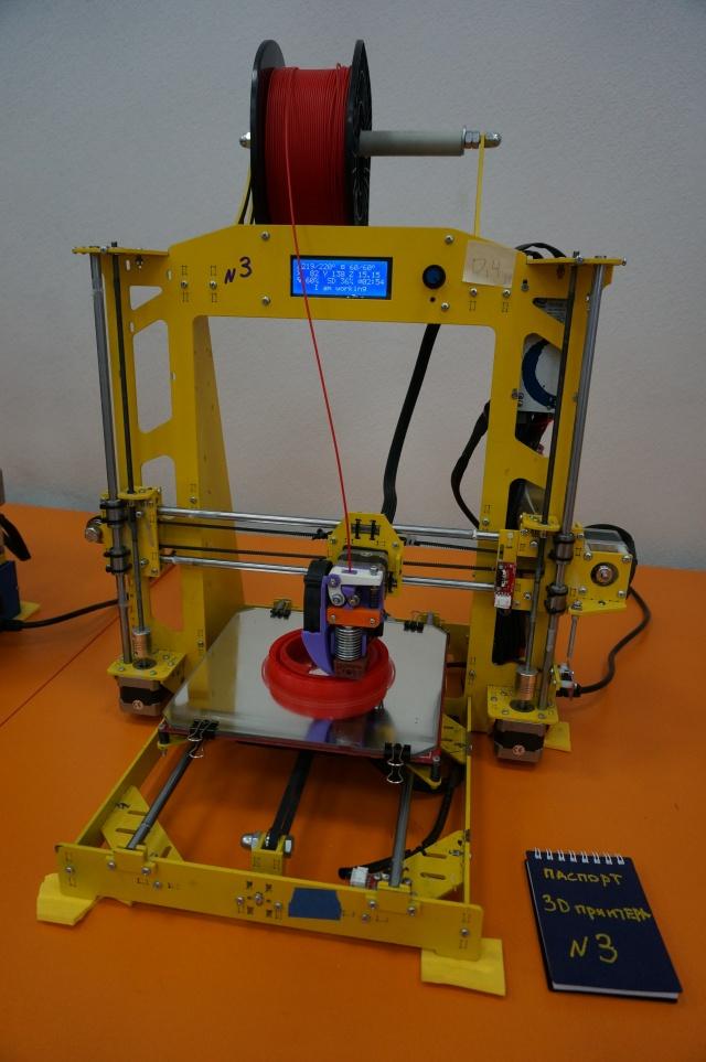 А это сам 3D-принтер