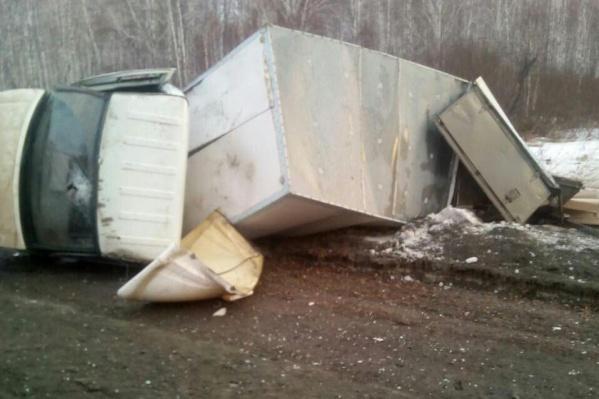 Авария произошла на трассе Челябинск — Екатеринбург