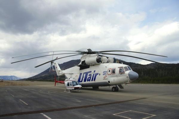 По предварительным данным, вертолёт разбился при экстренной посадке