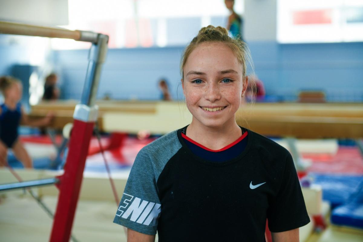 Ксения Камкова в 15 лет сталасеребряным призером чемпионата России по спортивной гимнастике