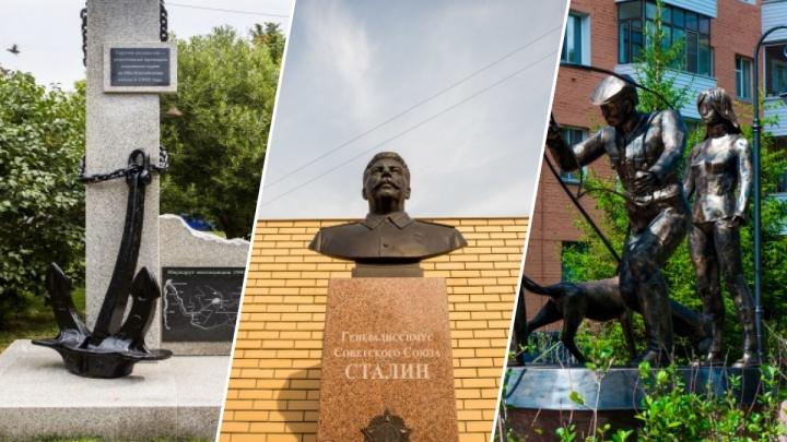 На Учительской поставят новую скульптуру. Вспоминаем, какие памятники появились в Новосибирске недавно