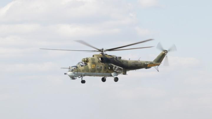В Новосибирск прилетели четыре вертолёта «Крокодил»