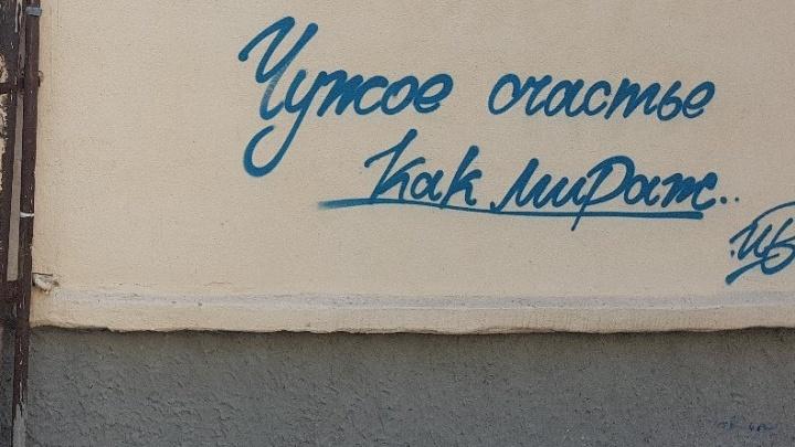 «Мы пытаемся расшевелить это болото»: авторы граффити рассказали, зачем портят стены в Кургане