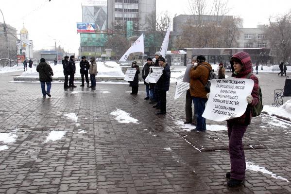 Обеспокоенных экологическими проблемами в Новосибирске сегодня оказалось немного