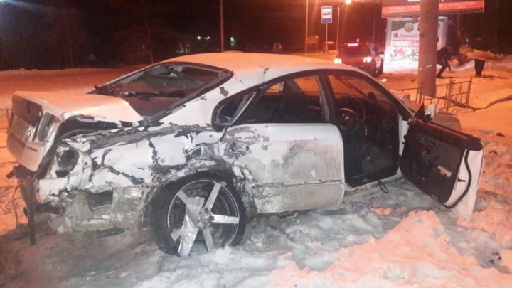 На Красном Пути водитель «Субару» столкнулся с «Фольксвагеном» на встречке