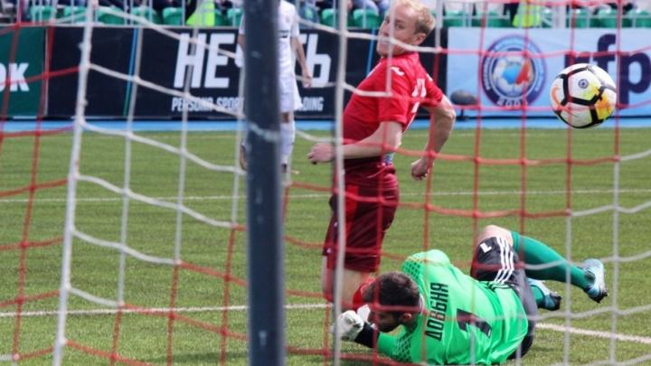 Долгожданная победа: «Уфа» одолела футболистов из Хабаровска