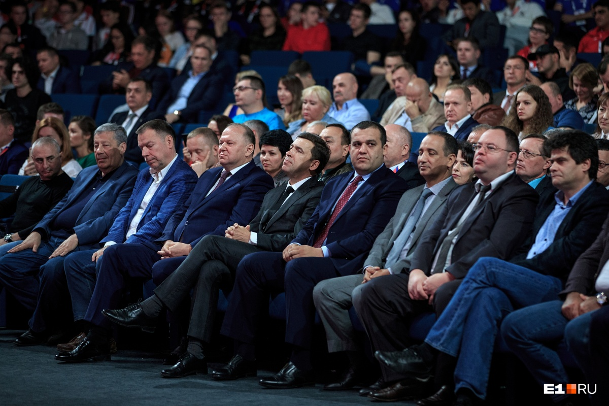 Да начнутся бои! Тина Канделаки, Костя Цзю и Владимир Путин открыли ЧМ по боксу в Екатеринбурге
