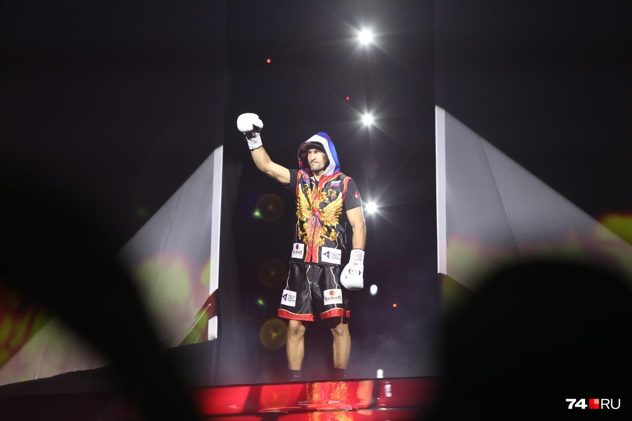 Сергей Ковалёв впервые бился за титул чемпиона мира в России и сразу в родном Челябинске