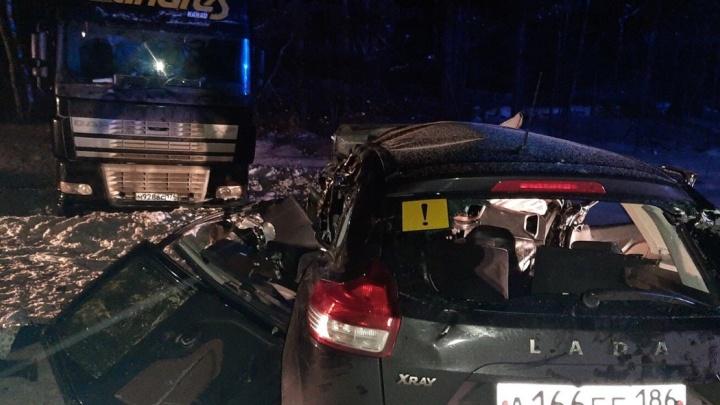 Погибла вся семья из пяти человек. Пострадавшие в ДТП на тюменской трассе скончались в больнице