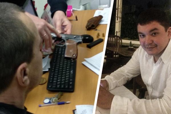 Пистолет, которым угрожал Тимур Муратов, оказался травматическим