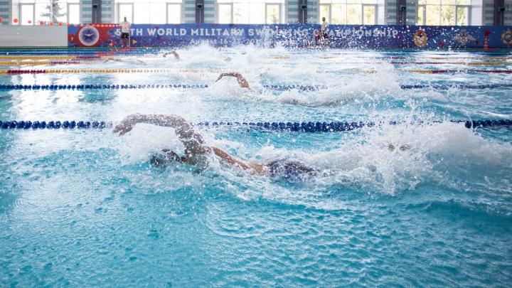 В Самаре армейцы вернули лидерство в чемпионате мира CISM по плаванию среди военнослужащих