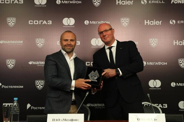 В новом сезоне МегаФон будет активно содействовать популяризации хоккея в России