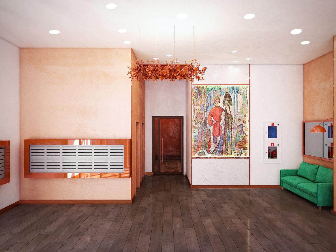 Парадные домов на Щербакова будут напоминать о самых известных сюжетах бажовских сказов. В холле первого дома появится панно с изображением Данилы-мастера и Хозяйки медной горы